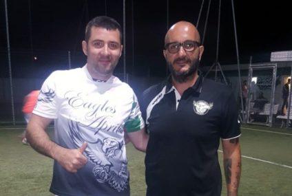 Nel girone di andata Cristian Vecinu è il re dei bomber, Mirko Merola lo insegue