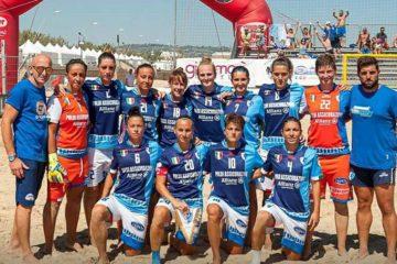 Beach Soccer: Lady Terracina pronta al via nell'Euro Winners Cup contro l'Amneville