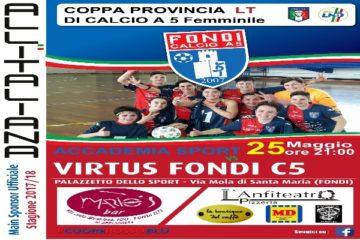Play-Off Serie D Femminile: la Virtus Fondi prepara la Semifinale contro l'Accademia Sport