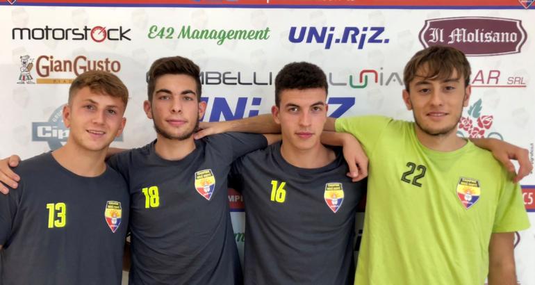 Ciampino Anni Nuovi promuove in prima squadra Bellucci, Cantina, Corvisieri e Giorgi