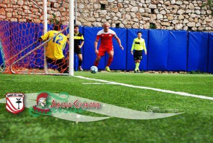 L'Arena Cicerone supera l'esame contro la Ginnastica e Calcio Sora e torna a vincere