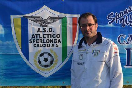 Santangelo elogia l'Atletico Sperlonga e si complimenta con il Ceccano per il fair play