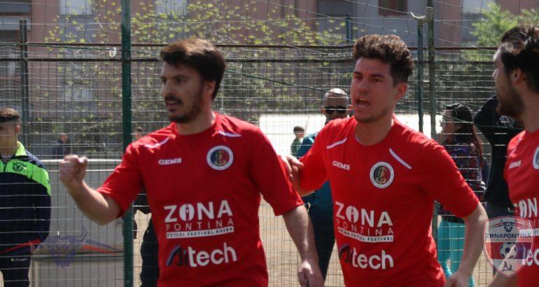 Zonapontina rimaneggiata, ma con il tandem Areni – Simeone vince il derby