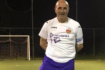 Capitan Vincenzo Masocco con 57 primavere a segno con il Cori Montilepini