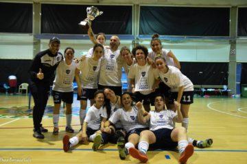 Esulta la Littoriana Futsal. La prossima stagione le pontine giocheranno in serie C