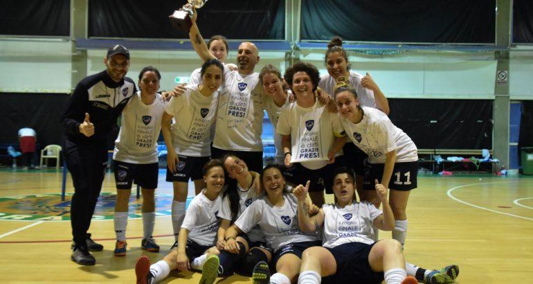 La Littoriana Futsal trionfa in Coppa Provincia Latina: 8 – 1 alla Virtus Fondi