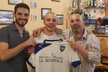 L'inizio di una nuova stagione. Mattia Cardinali è della Littoriana Futsal