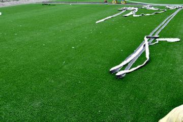 L'Arena Cicerone sta rifacendo il manto erboso. Spera in un ripescaggio nella C2?
