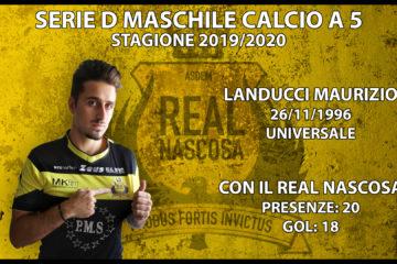 Conferma indiscussa: Il capitano Maurizio Landucci rinnova con il Real Nascosa