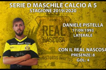 Real Nascosa, il laterale Pistella rinnova per la prossima stagione con i gialloneri