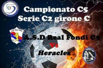Real Fondi: sabato l'esordio in campionato contro l'Heracles Formia