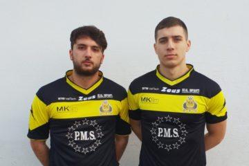 Real Nascosa e il Ds Tonini soddisfatti per l'arrivo di Daniele Gori e Gino Chittaro