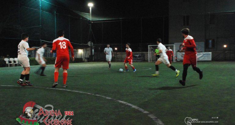 U21 – Prima vittoria dell'Arena Cicerone. Formiani di rimonta contro il Real Nascosa