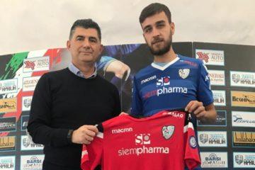 """Lo United Aprilia accoglie Fabrizio Infanti: """"Vorrei mettere in difficoltà il mister"""""""