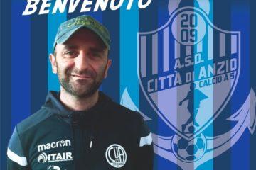 E' il momento delle ufficialità al Città di Anzio: Marco Di Fazio è il nuovo allenatore