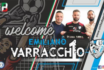 Dopo le conferme si muove lo United Aprilia: preso il portiere Emiliano Varracchio