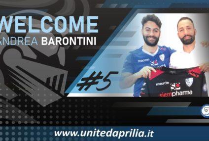 Una valida scelta per Trobiani: Andrea Barontini è dello United Aprilia