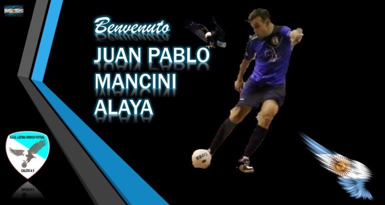 Latina MMXVII prepara la scalata. In arrivo l'argentino Juan Pablo Mancini Alaya