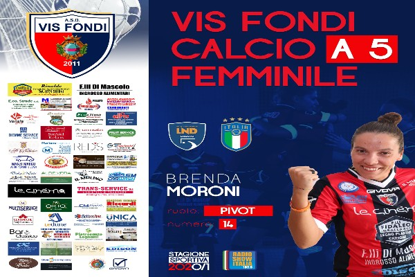 """""""Bomber del Popolo"""", atto terzo! Brenda Moroni resta alla Vis Fondi"""