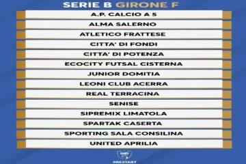 Città di Fondi: adesso la Serie B è realtà! I rossoblu entrano nel Futsal Nazionale