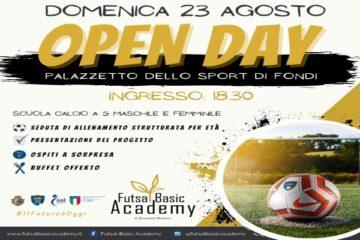 Futsal Basic Academy: è tempo di Open Day