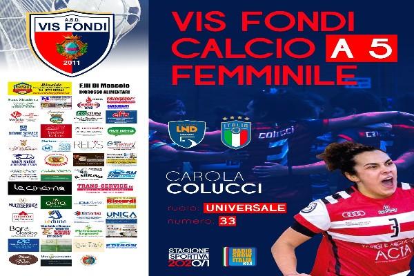 Un altro colpo per la Vis Fondi: presa Carola Colucci