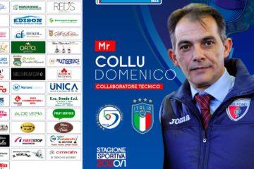 Alla Vis Fondi torna Domenico Collu. Il mister sarà collaboratore tecnico di Cibelli