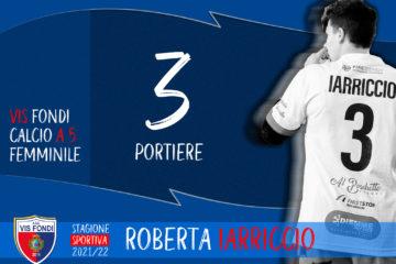 Roberta Iarriccio conferma con la Vis Fondi, un altro a difendere la porta rossoblù