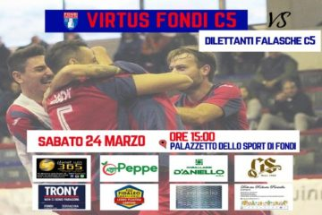 La Virtus Fondi attende il Dilettanti Falasche