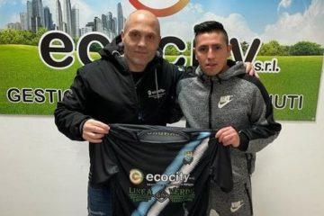 L'Ecocity Futsal Cisterna, da ufficialmente il benvenuto a Oscar Velazquez