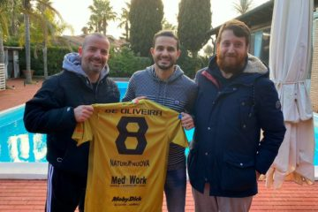 Altro rinforzo per lo United Pomezia. Arriva l'universale Vinicius De Oliveira