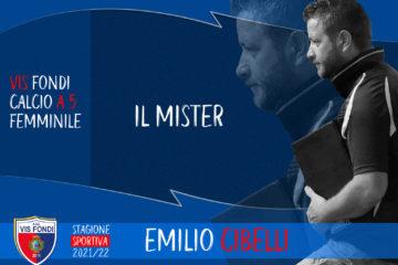 Vis Fondi, Emilio Cibelli guiderà anche la prossima stagione la formazione rossoblu