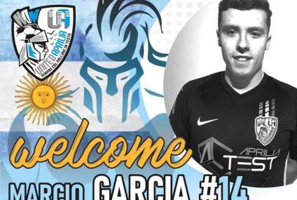 """Marcio Garcia """"el Marciano"""" è un nuovo giocatore dello United Aprilia Test"""